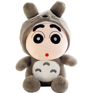 Shinchan Wearing Toroto Dress 22cms. Imported Soft Toy Plush Stuffed Toys