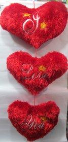 Valentine Hanging Heart Set 3 Pc Set