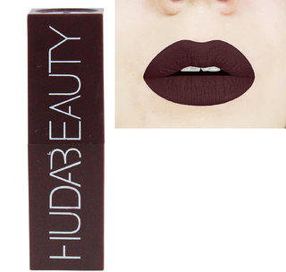 Spero New 2018 Huda Matte makeup Long-lasting Lipstick With Very Beautiful Attractive Smell and Colour dark Brown