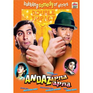 ANDAZ APNA APNA Hindi Movie 1994 DVD