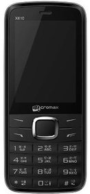 Micromax X610 Dual Sim Mobile Phone- Black