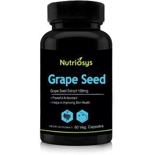 Nutriosys Grape Seed - 100mg (90 Veg Capsules)