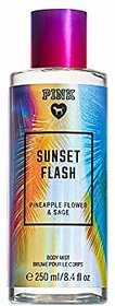 Pink SUNSET FLASH Pineapple Flower  Sage Body Mist 250ML/8.4oz