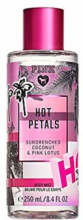 Pink HOT PETALS Sundreched Coconut  Pink Lotus Body Mist 250ML/8.4 oz