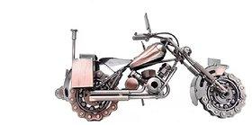 unique gifts - Metal Art Handmade Vintage Motorbike Miniature Model Large 8x12