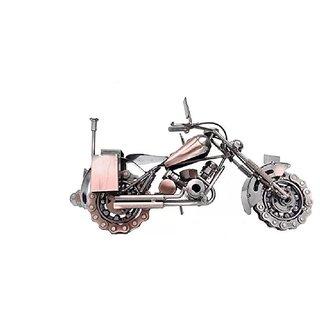 Buy unique gifts - Metal Art Handmade Vintage Motorbike Miniature Model Large 8x12 Online - Get 48% Off