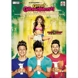 GREAT GRAND MASTI Hindi Movie 2016 DVD