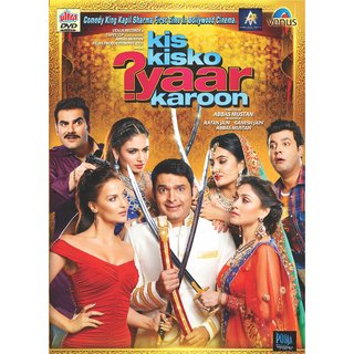 KIS KISKO PYAAR KAROON Hindi Movie 2015 DVD