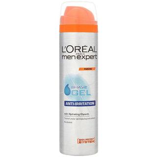 LP Men Expert Shave Gel, Anti Irritation Daily Protection - 200ml