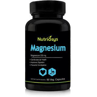 Nutriosys Magnesium Citrate - 330mg (90 Veg Capsules)