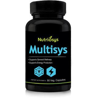Nutriosys Multisys Multivitamins  Minerals (90 Veg Capsules)