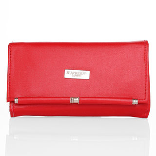 Lady queen red clutch