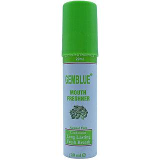 Gemblue Mouth Freshner, Cardamon - 20ml