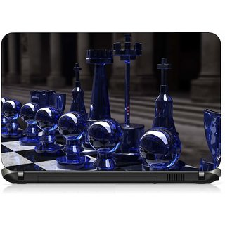 VI Collections CLASS CHESS COINS pvc Laptop Decal 15.6