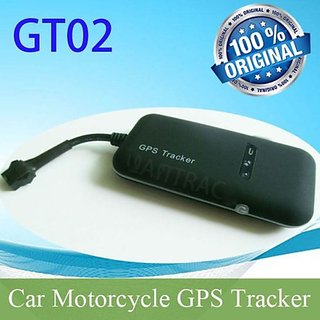 GPS Tracker GT02 Vehicle Real Time Tracking for Bike/Car/Truck/Tempo using GSM/SMS