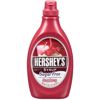 Hersheys Suger Free Syrup, Strawberry Flavour - 481g (17oz)