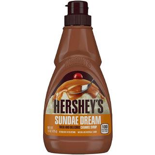 Hersheys Sundae Dream Caramel Syrup - 425g (15oz)