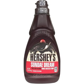 Hersheys Sundae Dream Double Chocolate Syrup - 425g (15oz)