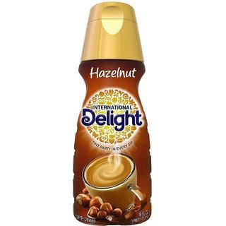 International Delight Liquid Coffee Creamer, Hazelnut - 473ml (16oz)
