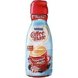 Nestle Coffee-mate Liquid Coffee Creamer, Peppermint Mocha - 946ml (32oz)