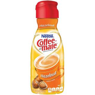 Nestle Coffee-mate Liquid Coffee Creamer, Sugar Free Hazelnut - 946ml (32oz)