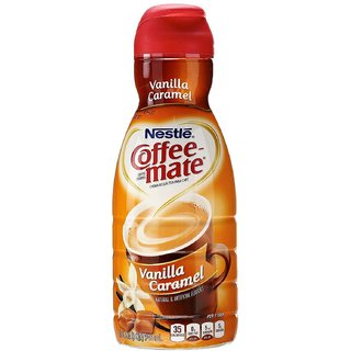 Nestle Coffee-mate Liquid Coffee Creamer, Vanilla Caramel - 946ml (32oz)