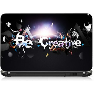 VI Collections BE CREATIVE GRAFITY pvc Laptop Decal 15.6