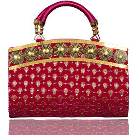 Lady Queen pink casual bag