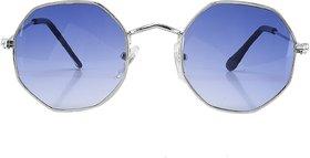 Code Yellow Geometric Retro OCTAGONAL Sunglasses Stylish, Trendy, Comfortable,UV Protected
