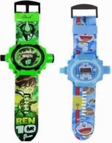 Buy 1 Get 2 Cartoon Projector  Digital Watch For Kids 24 Images