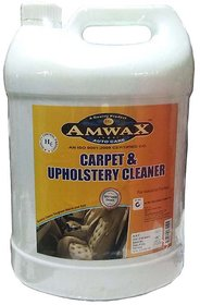 Amwax Car Carpet  Upholstery Cleaner  5 Litres