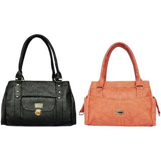 Ladies shoulder bag by all day 365(196 a 335)(1 black  1 orange)