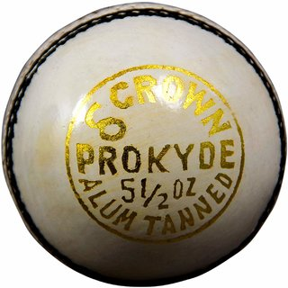 Prokyde Crown White Cricket Ball