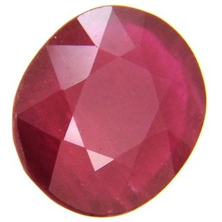 Original Manik Stone 5.5 Ratti (5 carats) Rashi Ratna  Natural and Certified by GEMOLOGICAL LABORATORY OF INDIA (GLI) Ruby Precious Gemstone Unheated and Untreated Top Quality Gems for Astrological Purpose