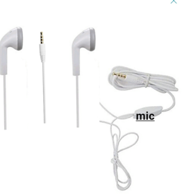 3.5 m Jack Earphone  Headphone With Mic Headset For all Android