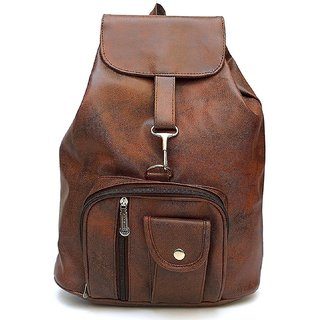 a3c116cf0dab Buy Bizarre Vogue Stylish Backpack For Girls (Brown) Online - Get 75 ...