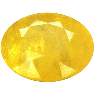 Natural Pukhraj Gemstone 3 Ratti (2.73 carats) Rashi Ratna  Origional and Certified by GEMOLOGICAL LABORATORY OF INDIA (GLI) Yellow Sapphire Precious stone Unheated and Untreated Top Quality Gems for Astrological Purpose