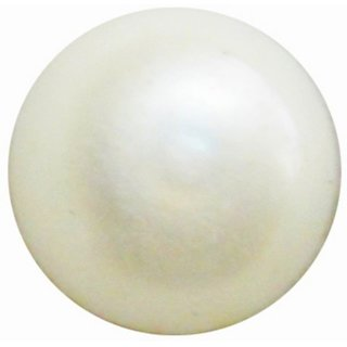 Natural Pearl Gemstone 8 Ratti (7.3 carats) Rashi Ratna  Origional and Certified by GEMOLOGICAL LABORATORY OF INDIA (GLI) Moti Precious Stone Unheated and Untreated Top Quality Gems for Astrological Purpose