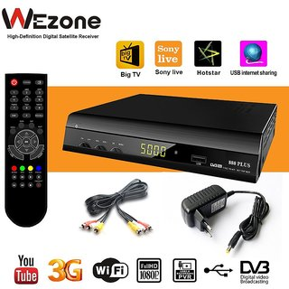 Free to air 888 Plus, Full HD Set Top Box, Mpeg-4