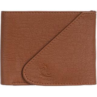 Kara Mens Tan PU Wallets