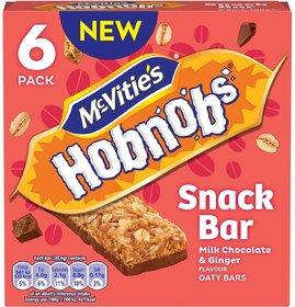 McVites Hobnobs Snack Bar, Milk Chocolate & Ginger Flav