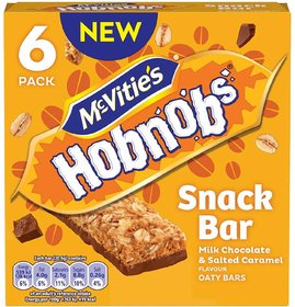 McVites Hobnobs Snack Bar, Milk Chocolate & Salted Cara