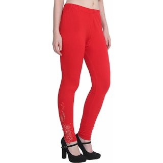 c84650ecd2f856 Buy ALISHAH Ankle Length Leggings With Peacock Pach for Women and Girls,  PLUS 13 Colors, SIZEs M, L, XL, XXL, XXXL Online - Get 18% Off