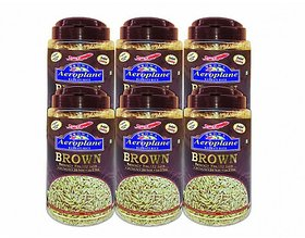 Aeroplane Instant Brown Rice 6 Pack Of 1 Kg (With Free