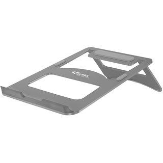 Portronics POR-870 My Buddy M Portable Laptop Stand (Silver)