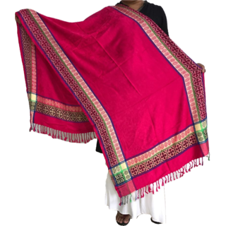 Krish Viscose Stole Shawl Pink For Women