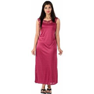 078a893845 Buy Nighty Two piece night gown wedding bridal Women s babydoll Gift by  Valencia Sleepwear Online - Get 64% Off