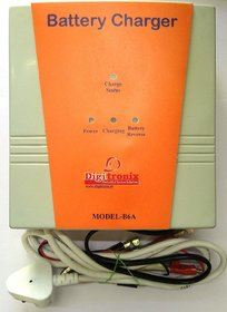 DigiTronix - CAR Battery Charger - Lead Acid 12v Battery Charger - 6 Amps - B6A