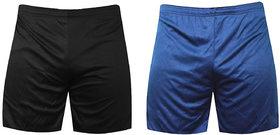 Demokray Men's Multicolor Shorts (Pack of 2)