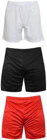 Sports Polyester Multi-colour Shorts,Swimming Shorts,Gym Shorts,Barmunda Set 3